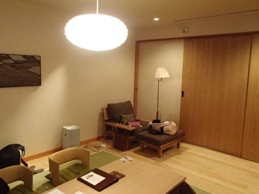 箱根・翠松園 客室のリビング