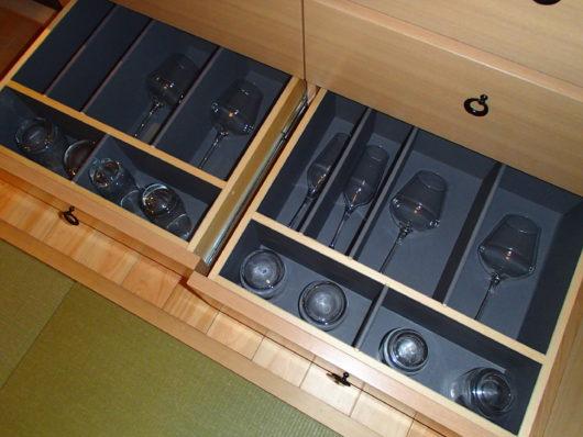箱根・翠松園 グラス類
