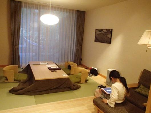 箱根・翠松園 客室 リビング