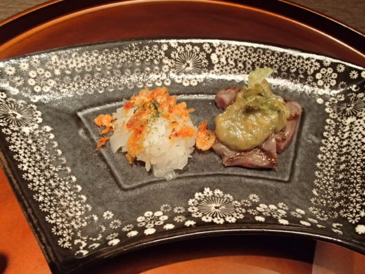 箱根・翠松園 夕食 焼物