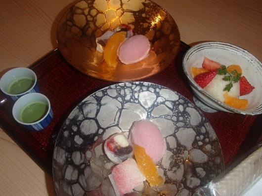 箱根・翠松園 夕食 水菓子