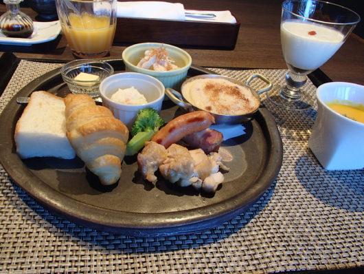 箱根・翠松園 朝食 お子様プレート