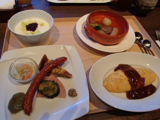 箱根・翠松園 朝食(洋食)