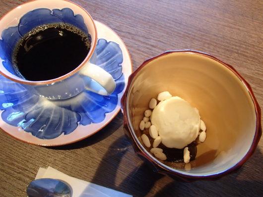 箱根・翠松園 デザートとホットコーヒー